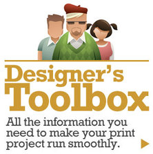Designer's Toobox - all the information you need to make your print job run smoothly